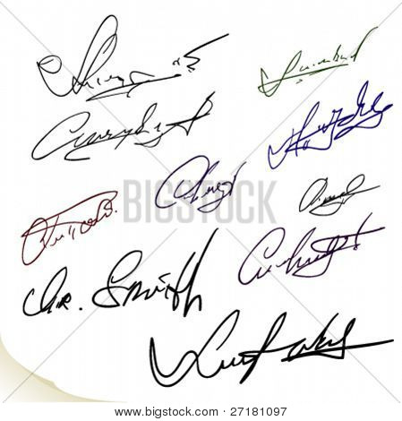 Set of nobody's lists signatures