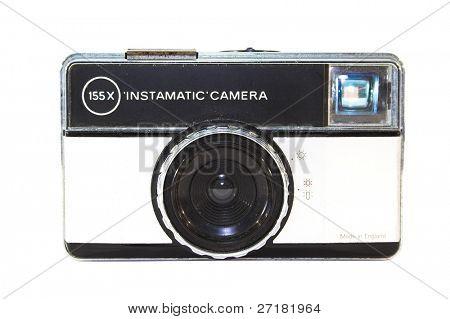 Old, vintage film camera