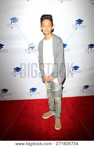 LOS ANGELES - DEC 1: Sheadan Gabriel at the Fulfillment Fund's 45th Annual Holiday Party for kids at CBS Television City on December 1, 2017 in Los Angeles, California