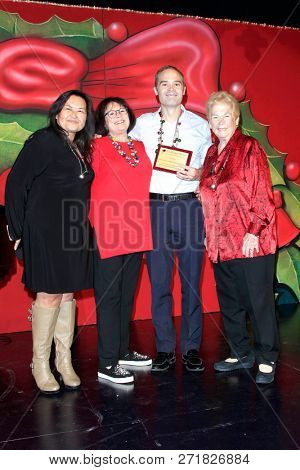 LOS ANGELES - DEC 1: Specialty Family Foundation award at the Fulfillment Fund's 45th Annual Holiday Party for kids at CBS Television City on December 1, 2017 in Los Angeles, California