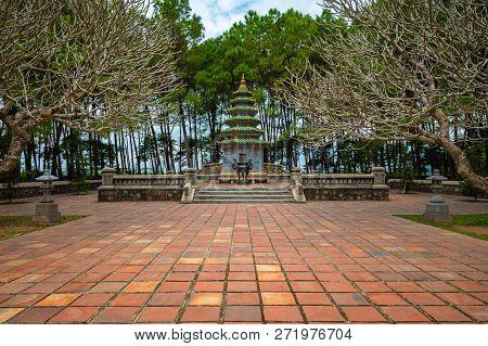 Thien Mu Temple, Hue, Vietnam.