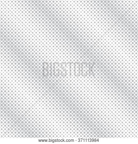Seamless Pattern. Abstract Halftone Background. Modern Stylish Texture. Repeating Grid With Dots And