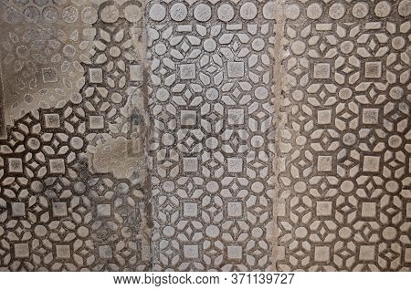 Gwalior, Madhya Pradesh/india - March 15, 2020 : Interior Of Wall In Gwalior Fort