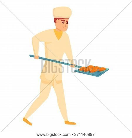 Confectioner Bakery Shovel Icon. Cartoon Of Confectioner Bakery Shovel Vector Icon For Web Design Is