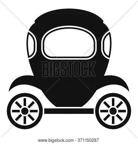 Wagon Brougham Icon. Simple Illustration Of Wagon Brougham Vector Icon For Web Design Isolated On Wh