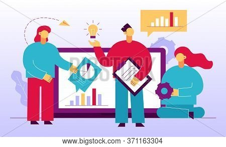 Business Analytics Searching Advanced Innovative Solution Concept