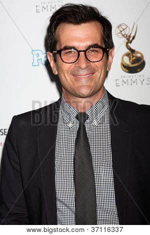 LOS ANGELES - SEP 21:  Ty Burrell arrives at the Primetime Emmys Performers Nominee Reception at Spectra by Wolfgang Puck on September 21, 2012 in Los Angeles, CA