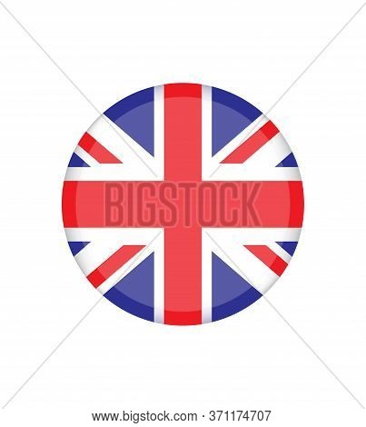 Uk. Union Jack. Flag Of United Kingdom. Official Colors. Correct Proportion. Vector Illustration. Th