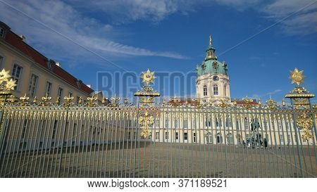 Magnificent Charlottenburg Palace In Berlin City In Germany