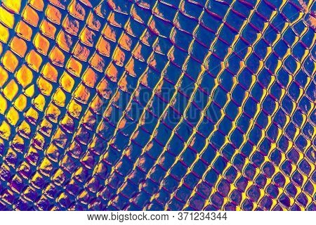 Stylish Sketch Seamless Pattern With Glitter Skin Crocodile Abstract For Textile Design. Seamless Pa