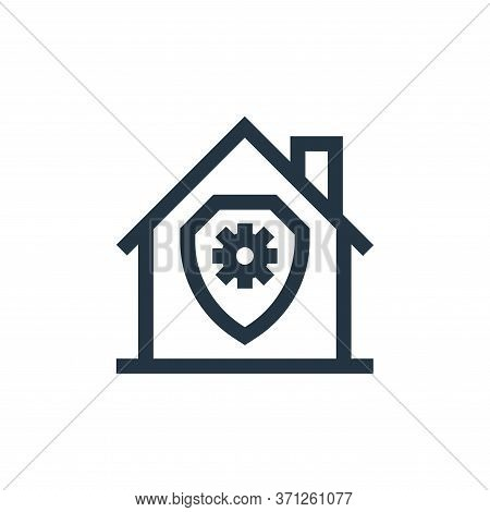 Security Vector Icon. Security Editable Stroke. Security Linear Symbol For Use On Web And Mobile App