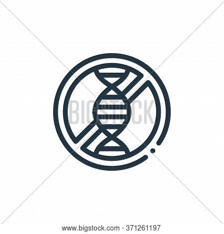 Genome Vector Icon. Genome Editable Stroke. Genome Linear Symbol For Use On Web And Mobile Apps, Log