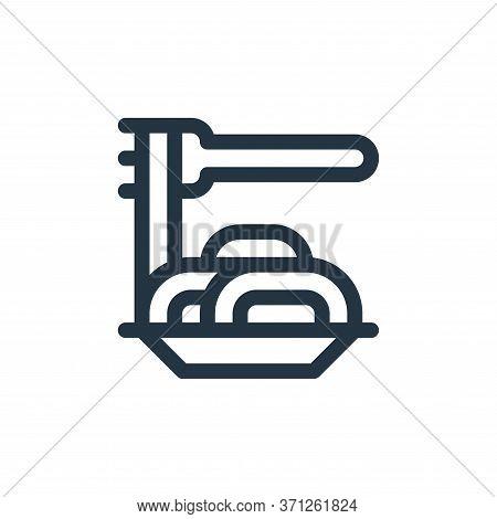 Spaghetti Vector Icon. Spaghetti Editable Stroke. Spaghetti Linear Symbol For Use On Web And Mobile
