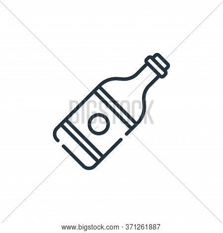 Champagne Vector Icon. Champagne Editable Stroke. Champagne Linear Symbol For Use On Web And Mobile
