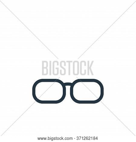Sunglasses Vector Icon. Sunglasses Editable Stroke. Sunglasses Linear Symbol For Use On Web And Mobi