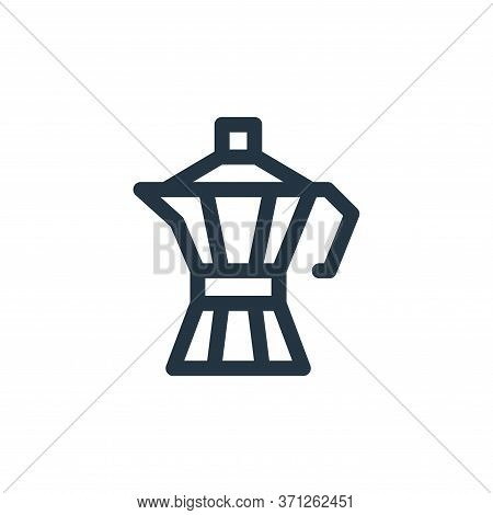 Coffee Maker Vector Icon. Coffee Maker Editable Stroke. Coffee Maker Linear Symbol For Use On Web An