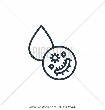 Liquid Droplet Vector Icon. Liquid Droplet Editable Stroke. Liquid Droplet Linear Symbol For Use On