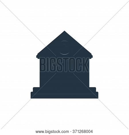 Courthouse Vector Icon. Courthouse Editable Stroke. Courthouse Linear Symbol For Use On Web And Mobi