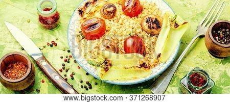 Traditional Turkish Pilaf