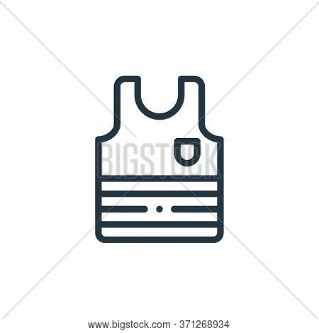 Tank Top Vector Icon. Tank Top Editable Stroke. Tank Top Linear Symbol For Use On Web And Mobile App