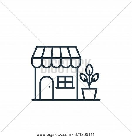 Store Vector Icon. Store Editable Stroke. Store Linear Symbol For Use On Web And Mobile Apps, Logo,