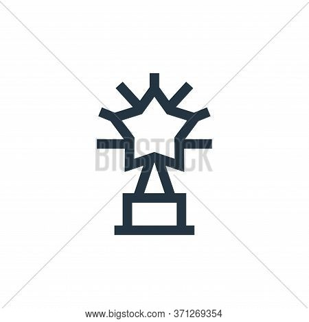 Award Vector Icon. Award Editable Stroke. Award Linear Symbol For Use On Web And Mobile Apps, Logo,