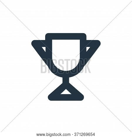 Trophy Vector Icon. Trophy Editable Stroke. Trophy Linear Symbol For Use On Web And Mobile Apps, Log