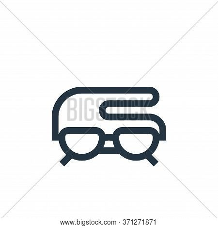 Reading Glasses Vector Icon. Reading Glasses Editable Stroke. Reading Glasses Linear Symbol For Use