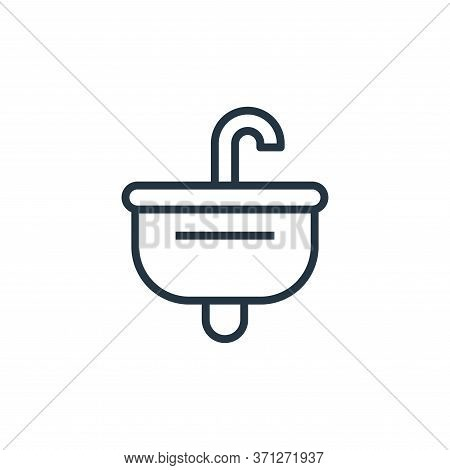 Sink Vector Icon. Sink Editable Stroke. Sink Linear Symbol For Use On Web And Mobile Apps, Logo, Pri