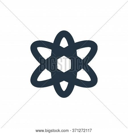Atom Vector Icon. Atom Editable Stroke. Atom Linear Symbol For Use On Web And Mobile Apps, Logo, Pri