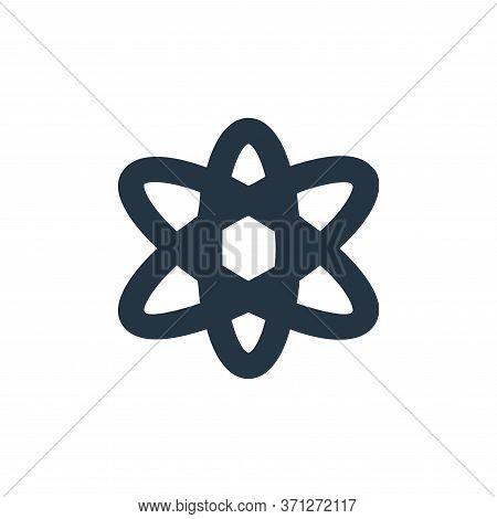 Atom Vector Icon. Atom Editable Stroke. Atom Linear Symbol For Use On Web And Mobile Apps, Logo, Pri