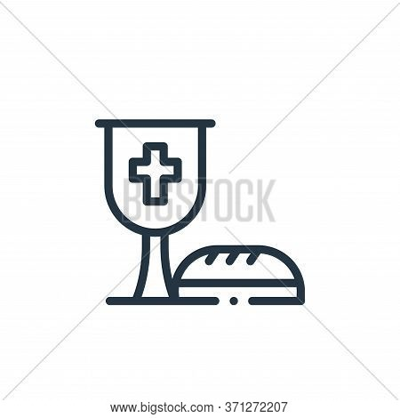 Wine Vector Icon. Wine Editable Stroke. Wine Linear Symbol For Use On Web And Mobile Apps, Logo, Pri