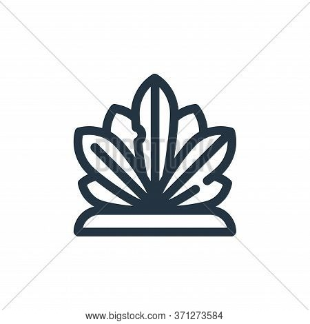 Agave Vector Icon. Agave Editable Stroke. Agave Linear Symbol For Use On Web And Mobile Apps, Logo,