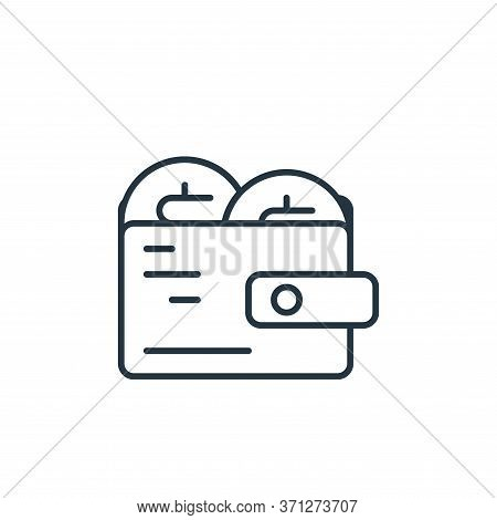 Deposit Vector Icon. Deposit Editable Stroke. Deposit Linear Symbol For Use On Web And Mobile Apps,