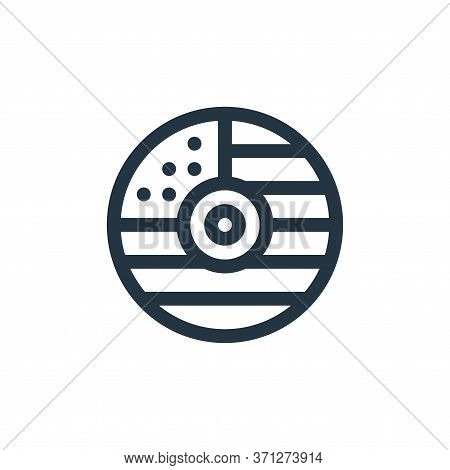 Cd Vector Icon. Cd Editable Stroke. Cd Linear Symbol For Use On Web And Mobile Apps, Logo, Print Med