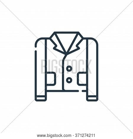 Suit Vector Icon. Suit Editable Stroke. Suit Linear Symbol For Use On Web And Mobile Apps, Logo, Pri