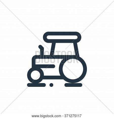 Heavy Vehicle Vector Icon. Heavy Vehicle Editable Stroke. Heavy Vehicle Linear Symbol For Use On Web
