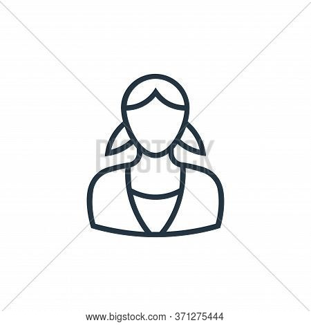 Nanny Vector Icon. Nanny Editable Stroke. Nanny Linear Symbol For Use On Web And Mobile Apps, Logo,