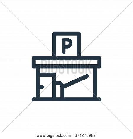 Garage Vector Icon. Garage Editable Stroke. Garage Linear Symbol For Use On Web And Mobile Apps, Log