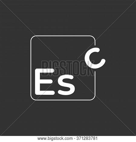 Logo Design About Escape In Vector Illustration