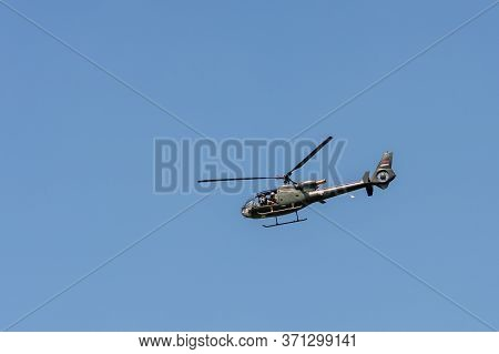 Aerospatiale Gazelle Soko Sa-342 Partizan Helicopter Of The Serbian Airforce