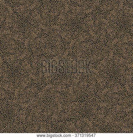 Dotwork Background. Grit, Sand, Beads. Vector Illustration