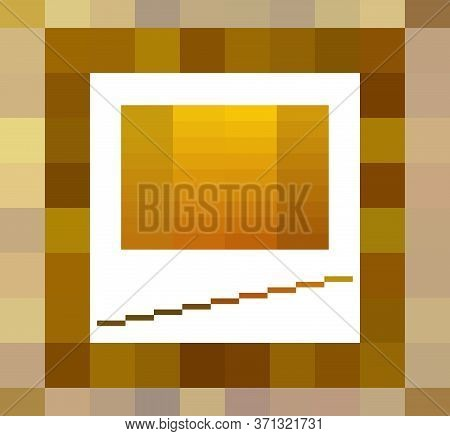 Luxury Golden Fashion Color Palettes Set Vector Illustration. Golden Yellow, Brown And Pastel Swatch