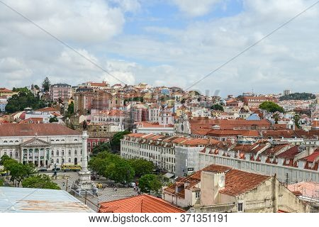 Lisbon, Portugal - July 3, 2019: View From The