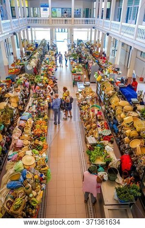 Mindelo/cape Verde - August 20, 2018 - Covered Market In Sao Vicente