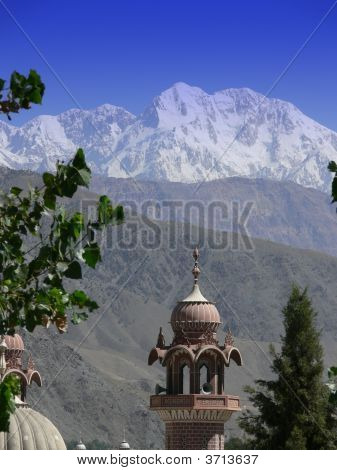 Mosque In The Mountains