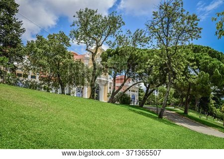 Eduardo Vii Park In Lisbon In A Beautiful Summer Day, Portugal