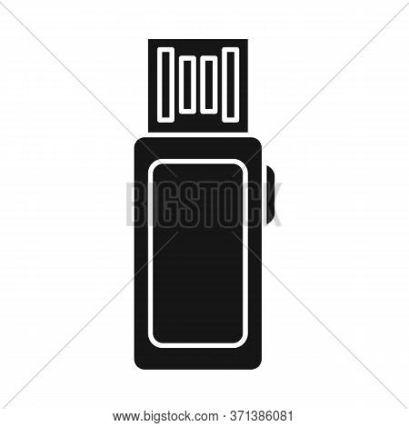 Vector Illustration Of Usb And Memory Sign. Graphic Of Usb And Pc Vector Icon For Stock.