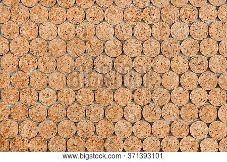 The Background Is Laid Out Round The Corks Of The Wine, Textured Horizontal Potion Cork