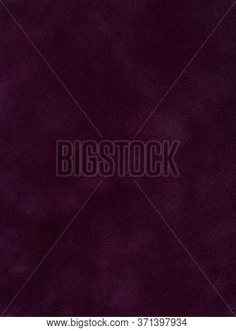 Abstract Maroon Velvet Background For Text Or Logo Placement. Red Velvet Background With Copy Space.